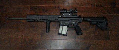 VFC HK417 20inエクステンションピース装着