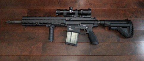 ACCUSHOT on HK417