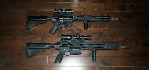 M4 & HK417