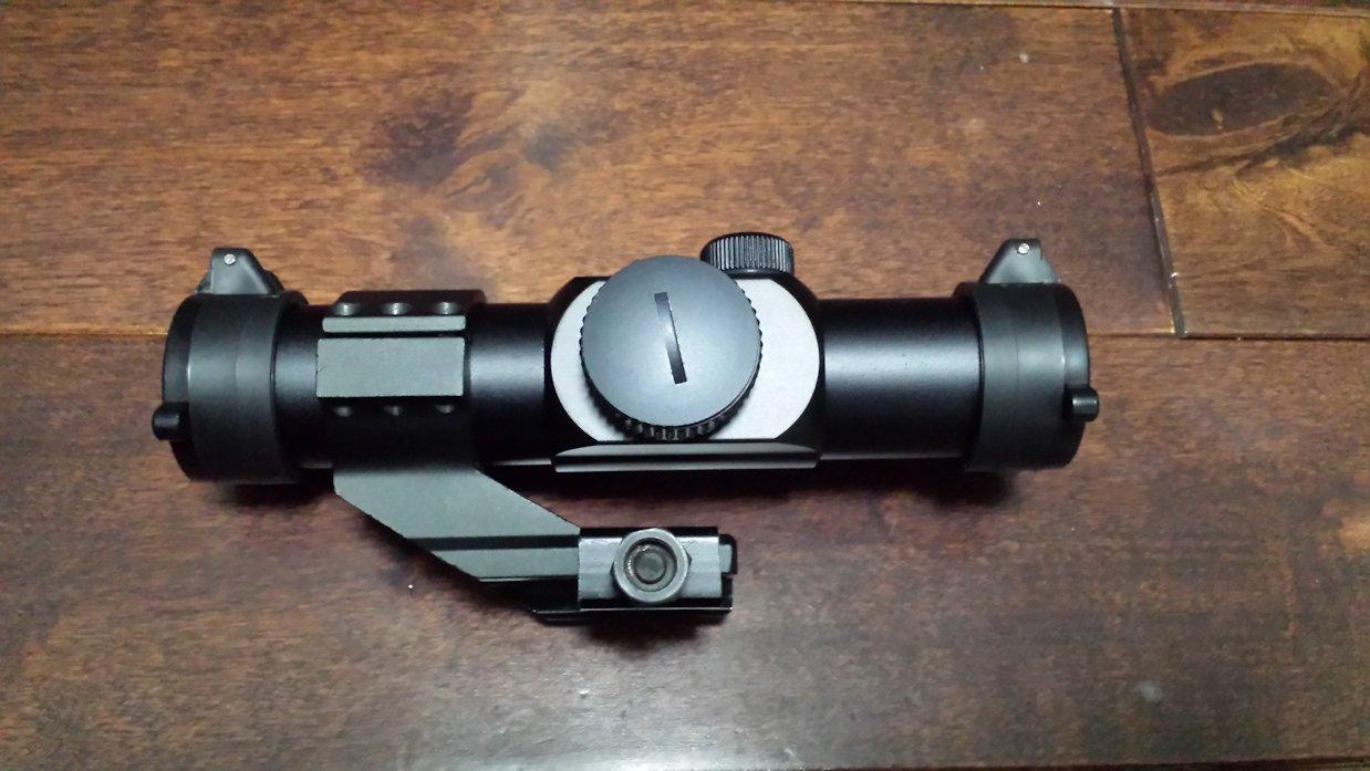 サイトロンMD-30にオフセットハイマウント