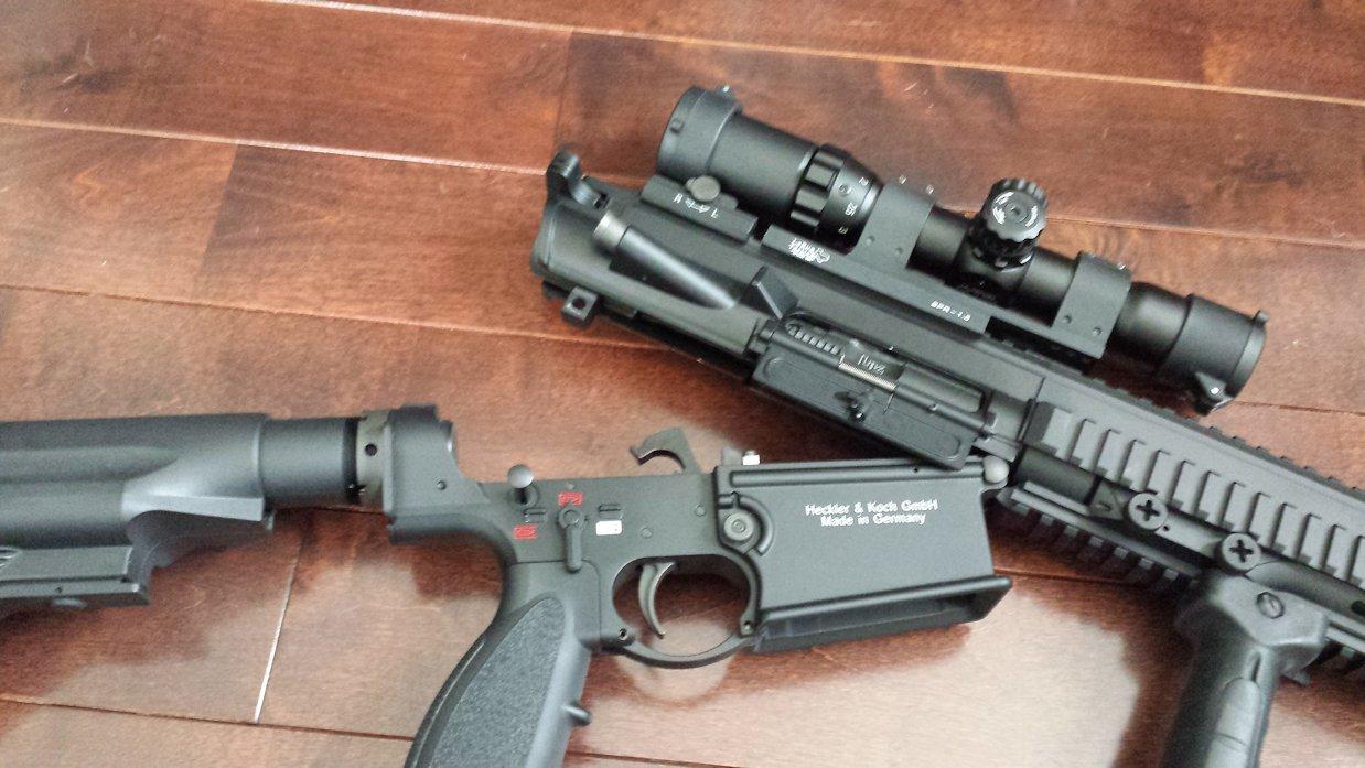 VFC HK417 GBBテイクダウン