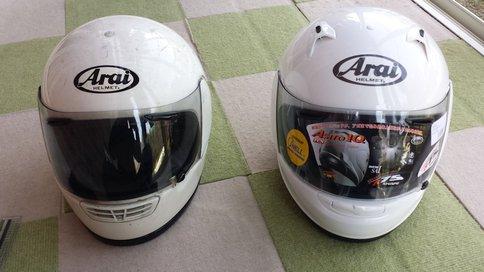 Arai Astro IQ XL 比較1
