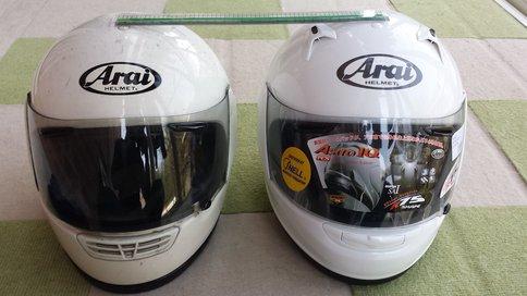 Arai Astro IQ XL 比較2
