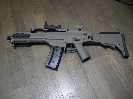 G36CV付属多弾マグ