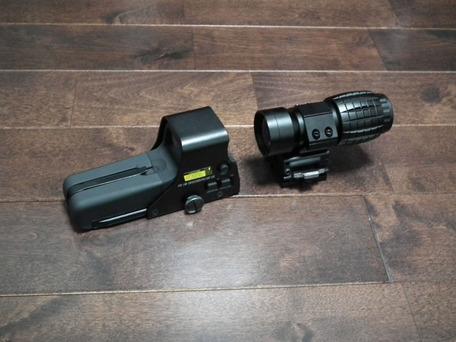 EoTech 557と3X Magnifire2