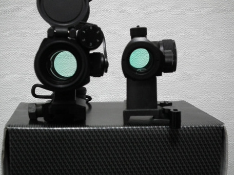 Aimpoint Micro T1比較1