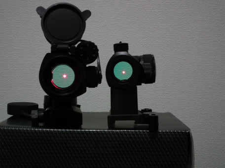 Aimpoint Micro T1比較2