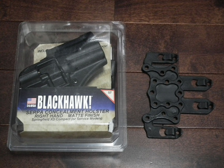 BlackHawk! SERPA CONCEALMENT HOLSTER MATTE FINISH