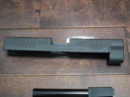 Creation XDM.40 アルミスライド&アウターXDM.45 ACP 右側刻印