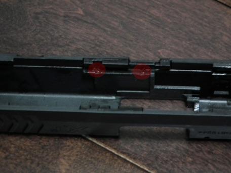 東京マルイXDM-40スライド分解7