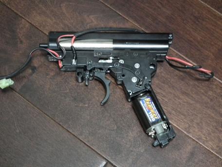ハマー1100-Sモーター組み込み