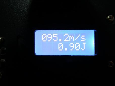 マルイ純正パッキン交換後 0.2g(ホップなし)初速1