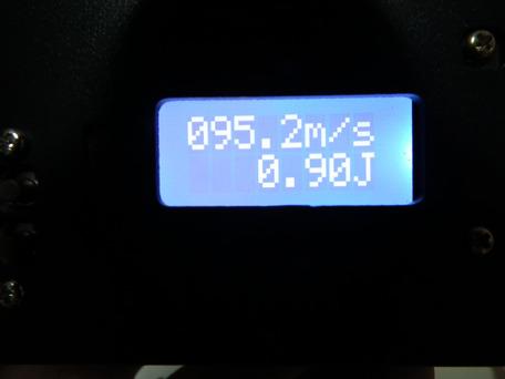 マルイ純正パッキン交換後 0.2g(適正ホップ)初速2