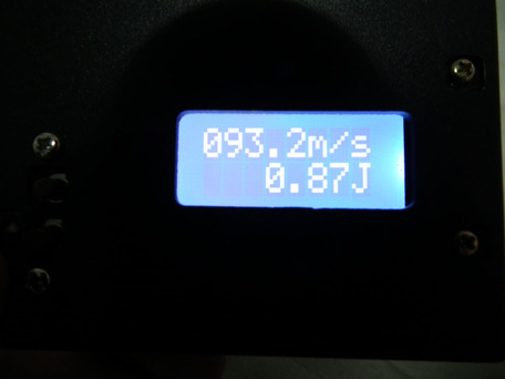 マルイ純正パッキン交換後 0.2g(適正ホップ)初速3