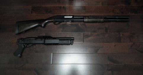 マルゼン M870 エクステンションカスタム WSV M1100リヴィジョンとの比較