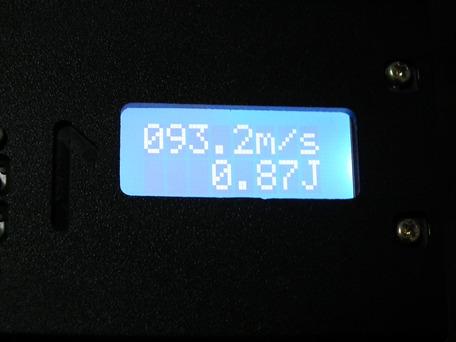 X3200正規品 弾速比較3-1