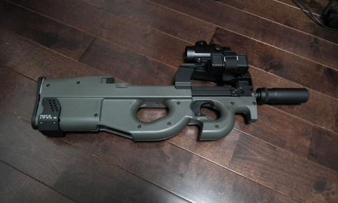 P90シリーズ用 スペアマグホルダーe 取り付け1