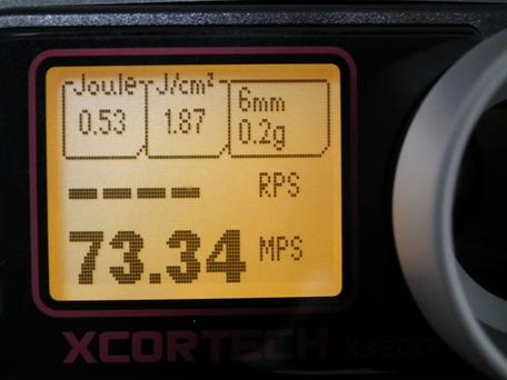 MP5K HC スプリング交換後初速