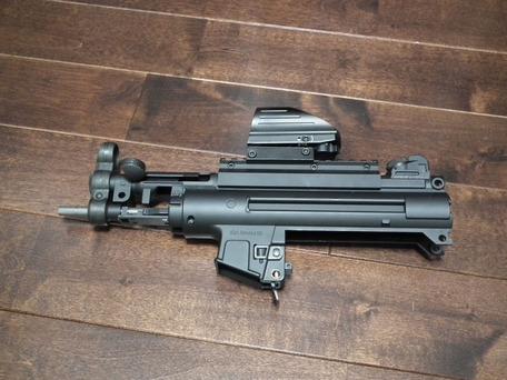 MP5K HC KM企画パーフェクトバレル141mm装着2