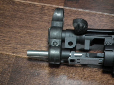 MP5K HC KM企画パーフェクトバレル141mm装着3