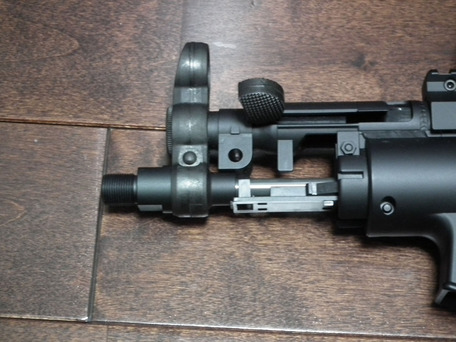 MP5K HC KM企画パーフェクトバレル141mmの長さ1