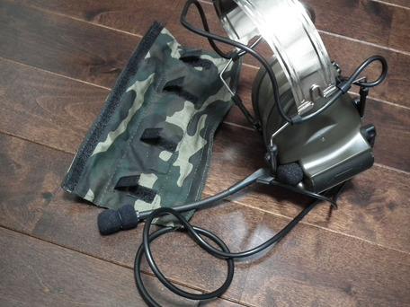 ztactical Comtac II ヘッドセット 取り外し1