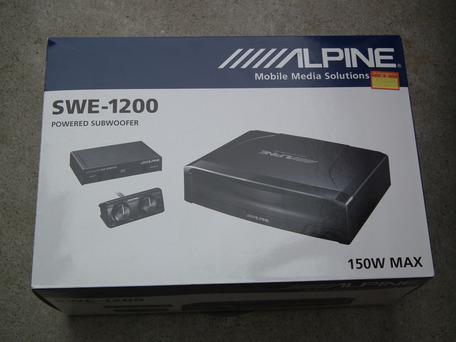 ALPINE SWE-1200