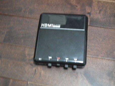 オーム電機 HDMI 4ポートセレクタ― AV-S0277