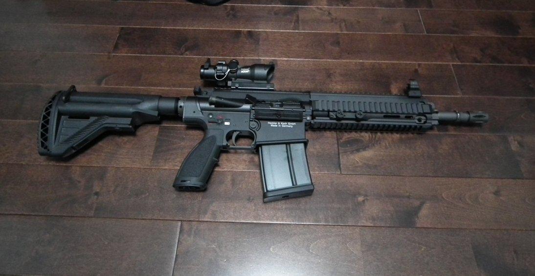 VFC HK417  GBB 2