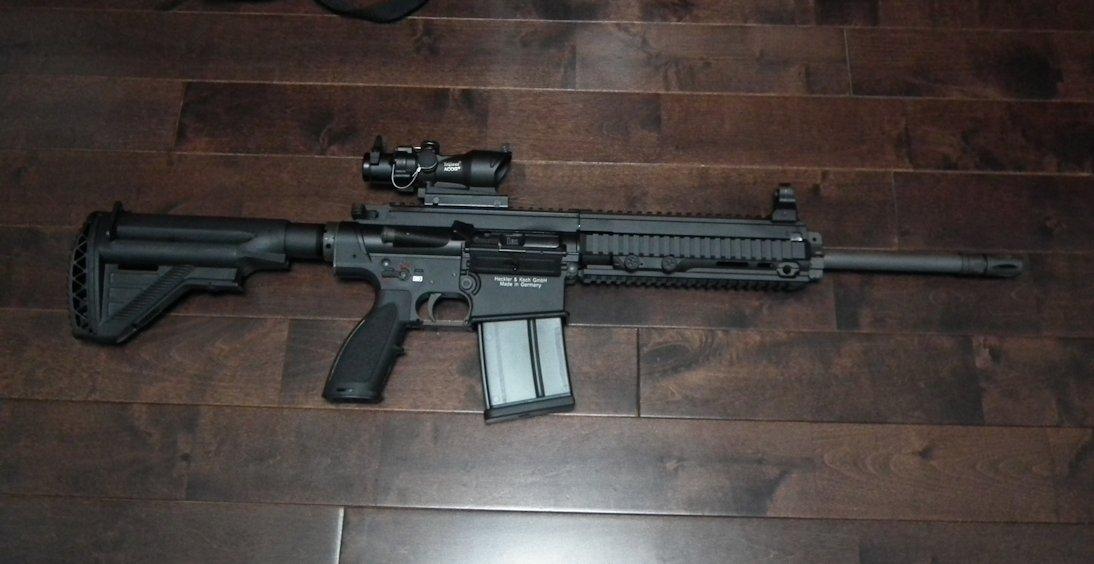 VFC HK417  GBB 16inch