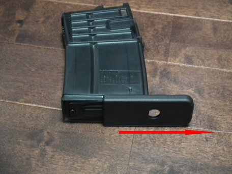 VFC HK417マガジン分解1