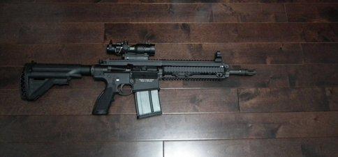HK417 12inch Barrel 9inch Handguard