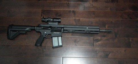 HK417 16inch Barrel 13inch Handguard