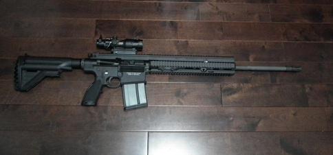 HK417 20inch Barrel 13inch Handguard