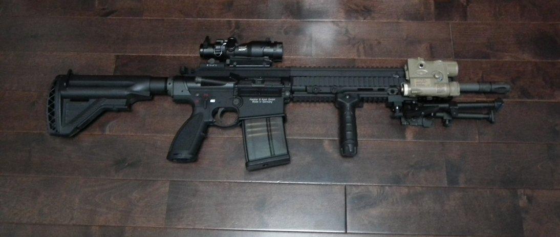 VFC HK417 GBB Recon
