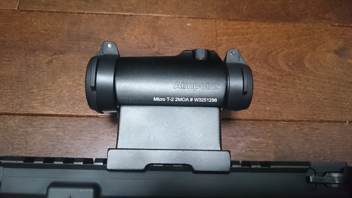 Aimpoint - Micro T-2 レプリカ取り付け