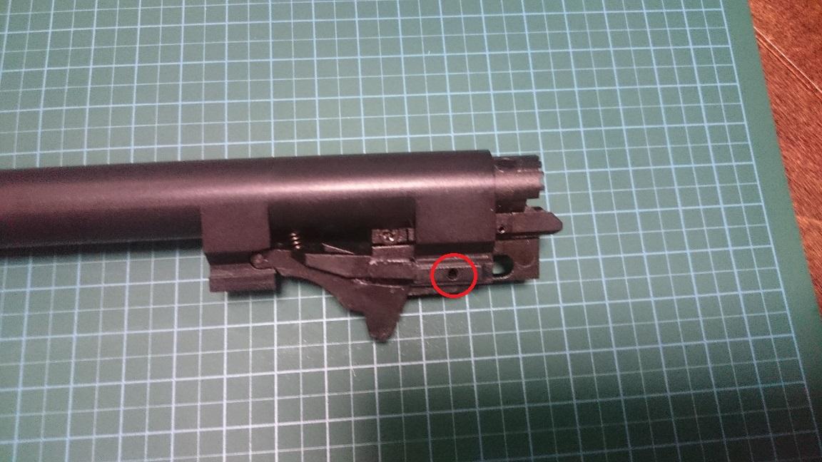 KSC M9 新型ホップアップシステム交換