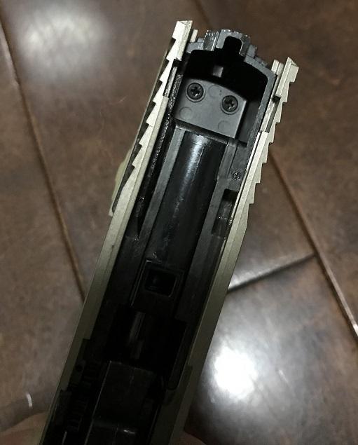 東京マルイ GBB M&P9 RMRダットサイト