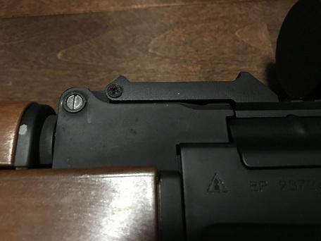 APS製 AK用 20mmレイル アッパーレシーバー メタル製
